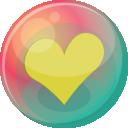 Heart Yellow 2 Emoticon