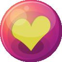 Heart Yellow 1 Emoticon