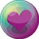 Heart Purple 3 Emoticon