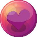 Heart Purple 1 Emoticon