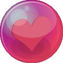 Heart Pink 6 Emoticon