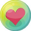 Heart Pink 5 Emoticon