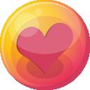 Heart Pink 4 Emoticon