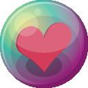 Heart Pink 3 Emoticon