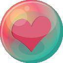 Heart Pink 2 Emoticon
