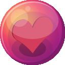 Heart Pink 1 Emoticon