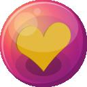 Heart Orange 1 Emoticon