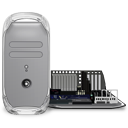 Power Mac G4 Quicksilver Open Emoticon