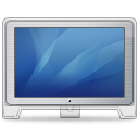 Cinema Display Old Front Blue Emoticon