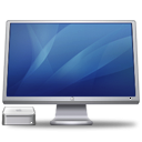 Cinema Display Macmini Blue Emoticon