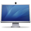 Cinema Display ISight Blue Emoticon