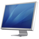 Cinema Display Diagonal Blue Emoticon