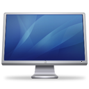 Cinema Display Blue Emoticon