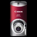 Canon IXY DIGITAL L3 Red Emoticon