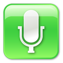 Microphone Pressed Emoticon