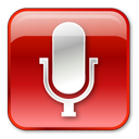 Microphone Normal Red Emoticon