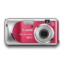 Powershot A430 Rouge Emoticon