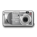 Powershot A430 Grey Emoticon
