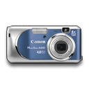 Powershot A430 Blue Emoticon