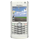 BlackBerry Pearl White Emoticon