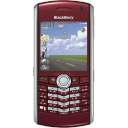BlackBerry Pearl Red Emoticon