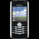 Blackberry Pearl Black Emoticon