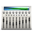 Audio Mixing Desk Emoticon