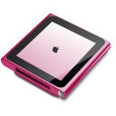 IPod Nano Pink Emoticon