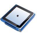 IPod Nano Blue Emoticon