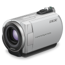 Sony Handycam Purple Lens Emoticon