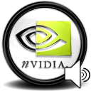 NVidia Speaker Tray Emoticon