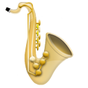 Saxophone Emoticon