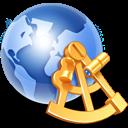 Globe Sextant Emoticon