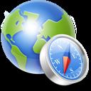 Globe Compass Emoticon
