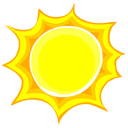 Sun Emoticon