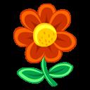 Red Flower Emoticon