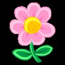 Pink Flower Emoticon