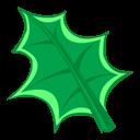 Green Leaf Emoticon