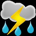 Thunderstorms Emoticon