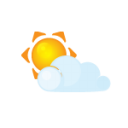Sun Littlecloud Emoticon