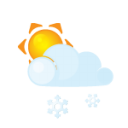 Sun Lightcloud Sleet Emoticon
