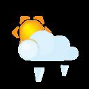 Sun Lightcloud Grain Emoticon