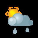 Sun Darkcloud Heavyrain Emoticon
