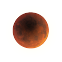 Lunar Eclipse Emoticon