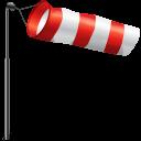 Wind Flag Storm Emoticon