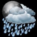 Night Rain Emoticon