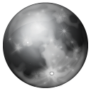 Moon Phase Full Emoticon