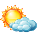 Partly Cloudy Day Emoticon