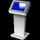 Touch Screen Kiosk Emoticon