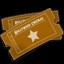 Hollywood Ticket Emoticon